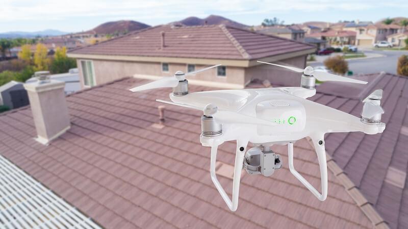Drohnenaufnahmen Inspektion
