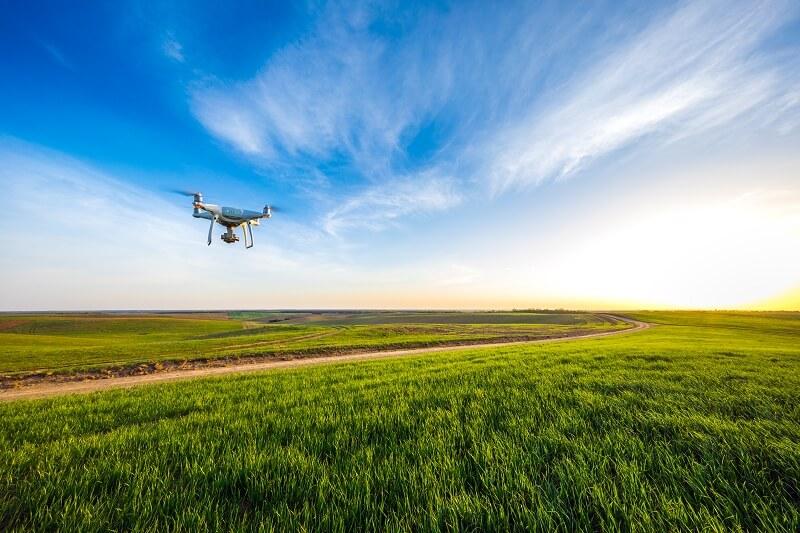 Drohnenaufnahmen Rechtskonform