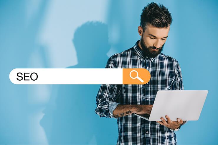SEO Suchmaschinenoptimierung Web Websiteerstellung