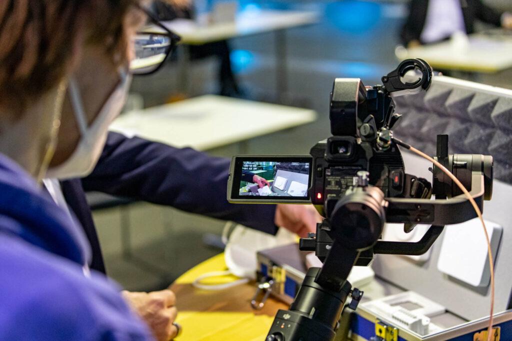 Produkt-Videografie mit einer Gimbal-Kamera
