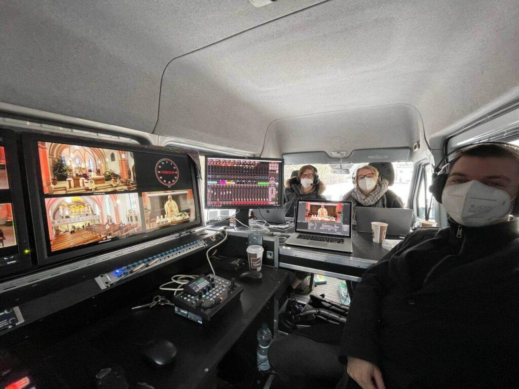 PK-Team im Ü-Wagen